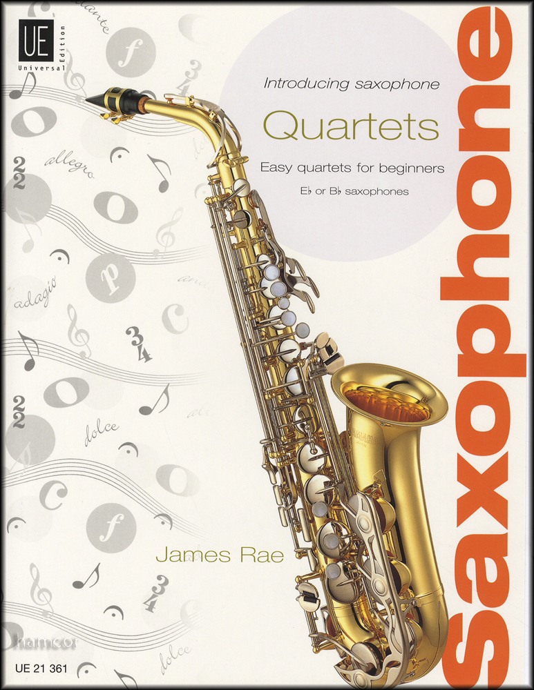 introducing saxophone quartets easy for beginners music book score parts eb bb enlarged preview. Black Bedroom Furniture Sets. Home Design Ideas