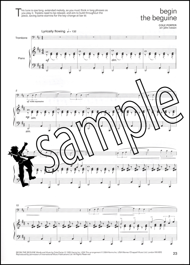 lets face the music trombone euphonium treble clef sheet music book. Black Bedroom Furniture Sets. Home Design Ideas