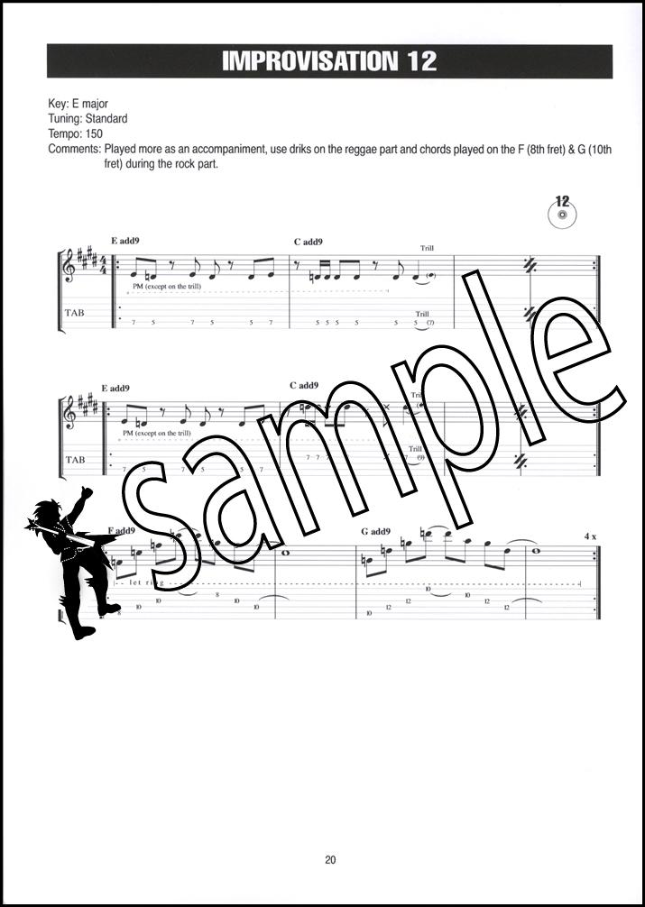 Guitar Training Session Rock Solos u0026 Improvisation TAB Music Book/CD : eBay