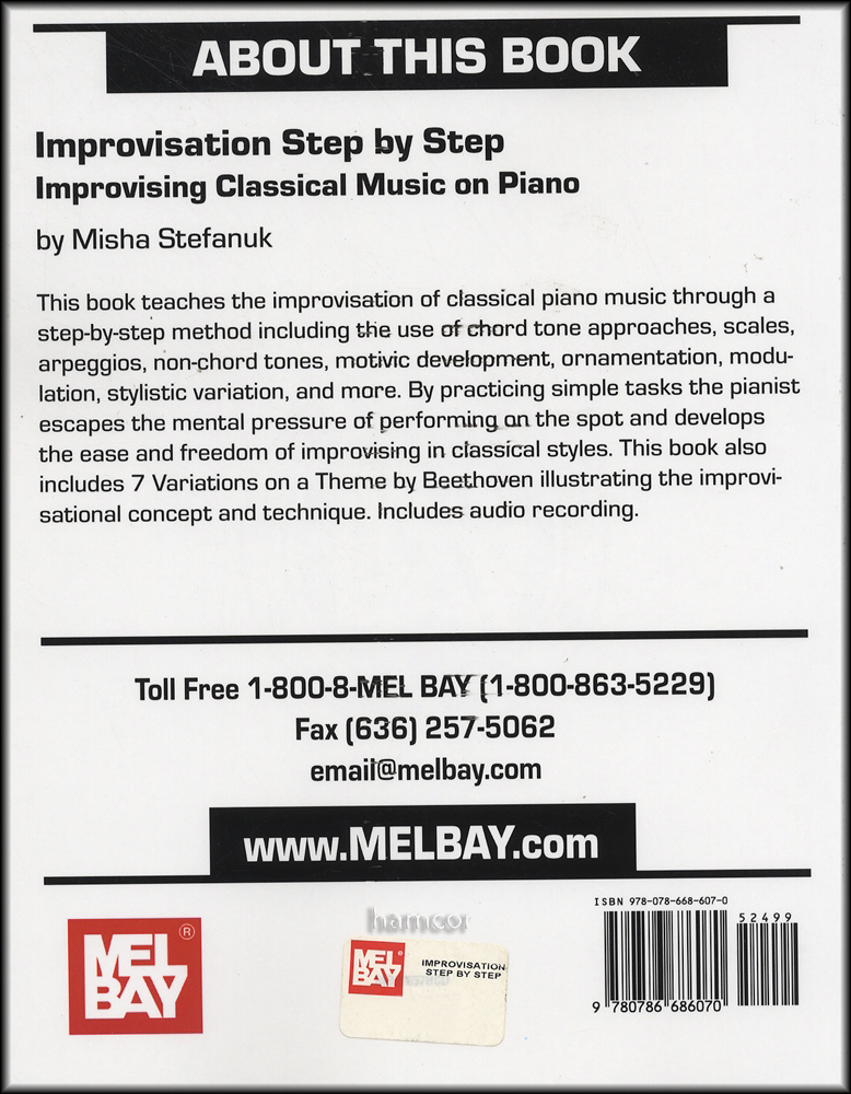 The 'Concept' Practice Method for Improvisation