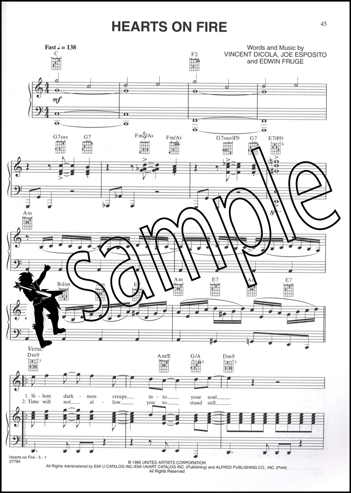 Rocky Balboa The Best of Rocky Piano Vocal Chords Sheet Music Book : eBay