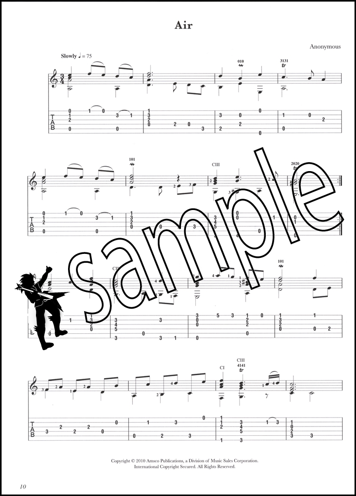 Sheet Music and TAB for Classical Guitar (Free PDFs ...