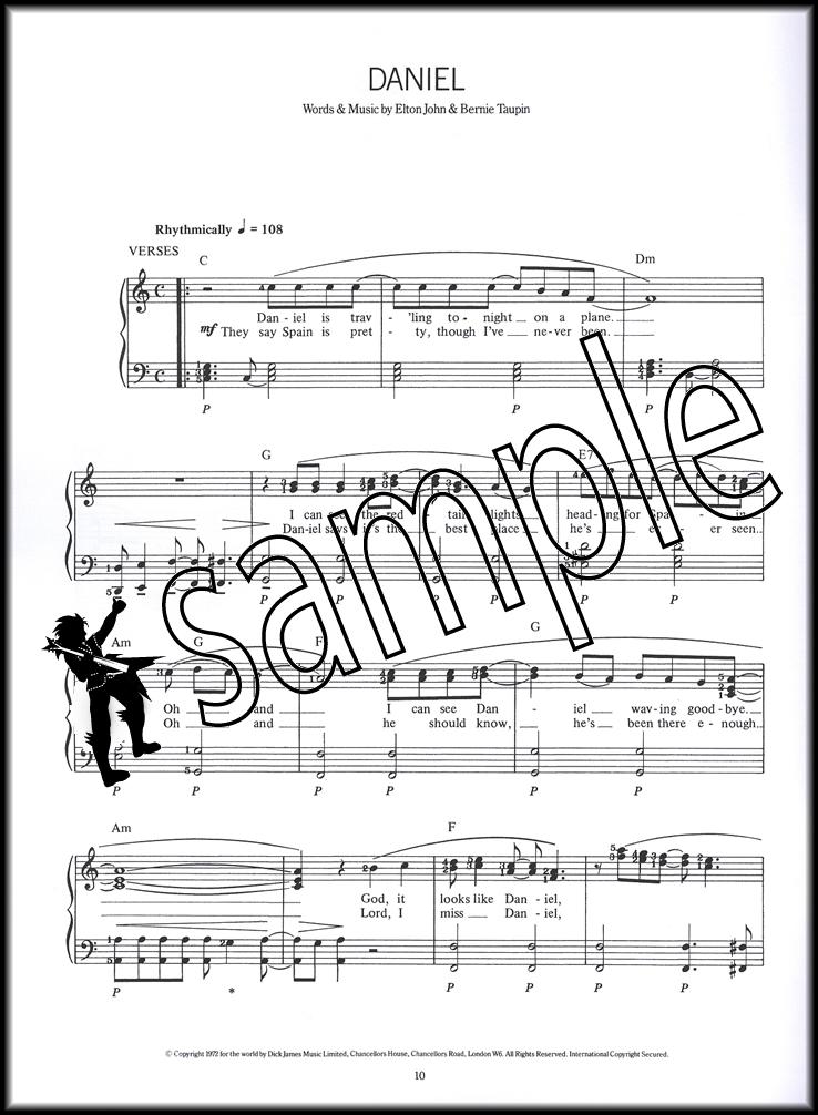 The Complete Piano Player Elton John Sheet Music Book 20 Songs Chords u0026 Lyrics : eBay