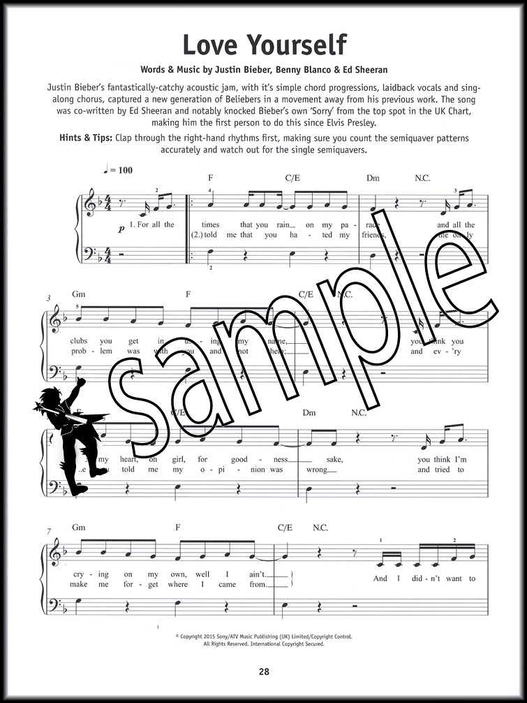 the book report sheet music