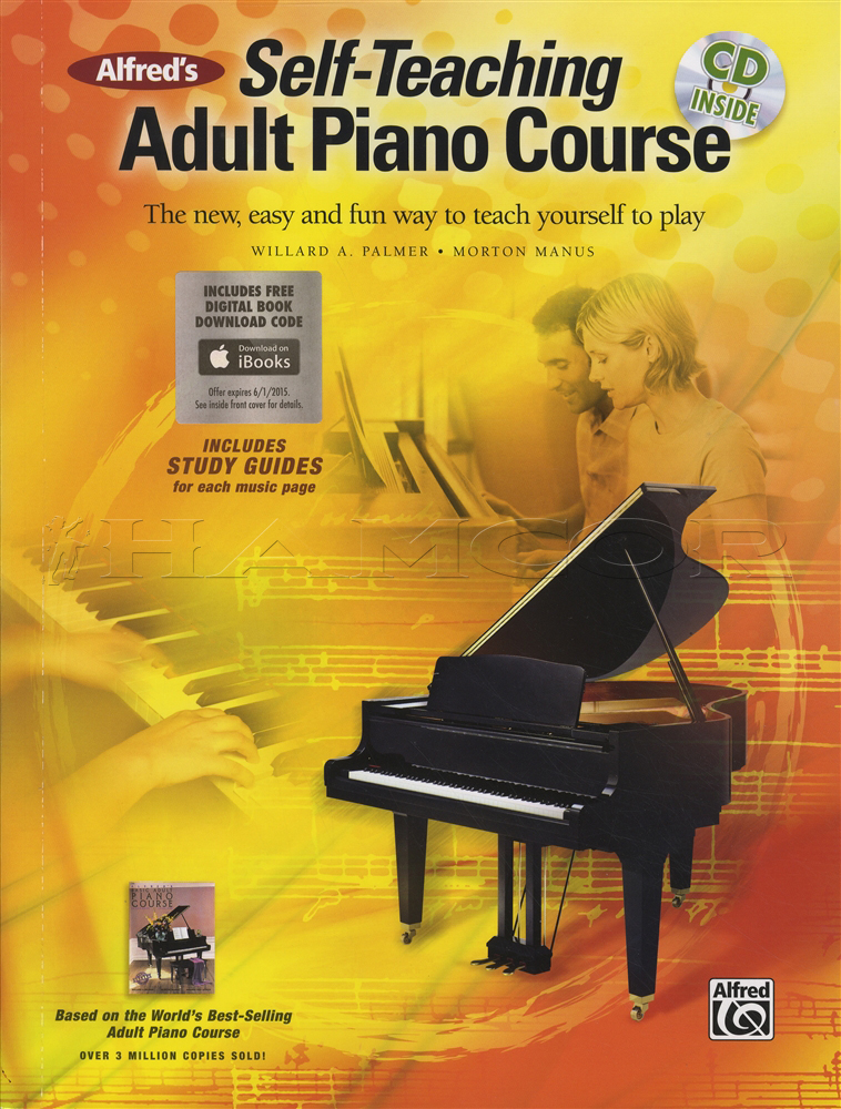 Best self study piano book