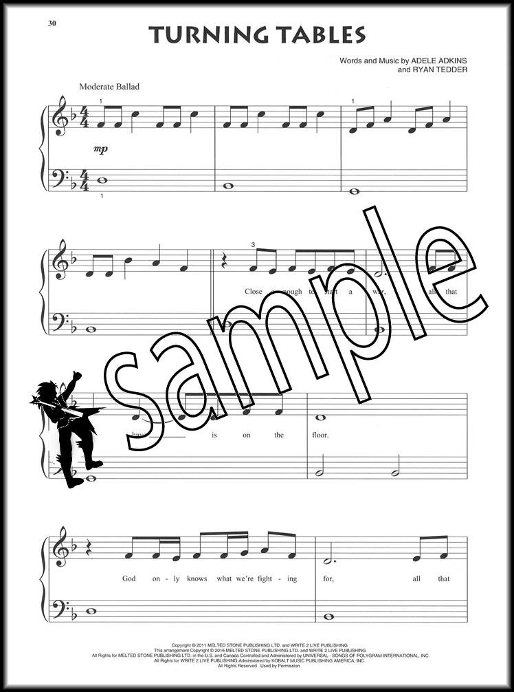 adele remedy sheet music pdf