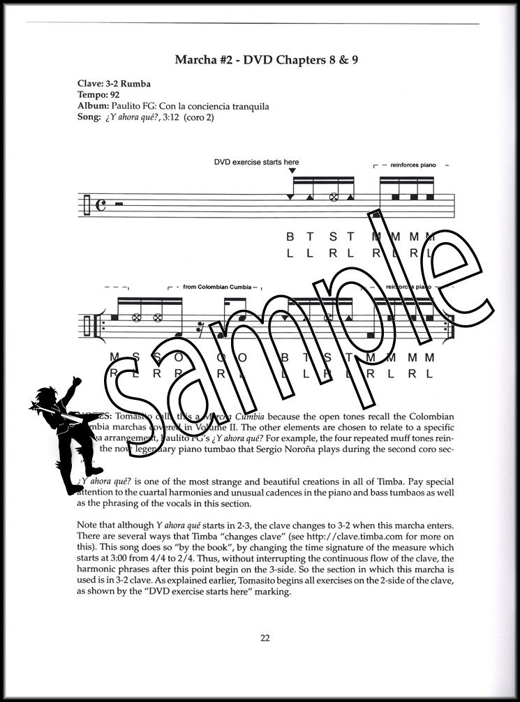 The Tomas Cruz Conga Method Volume 3 Book/Video | Hamcor