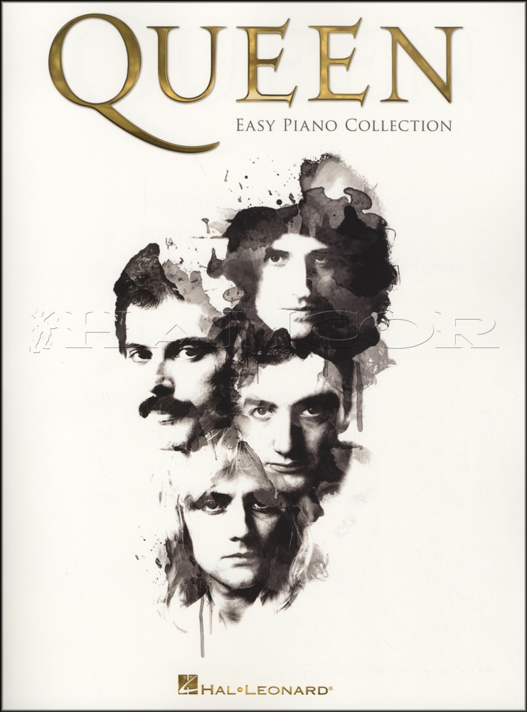 Simple Book Cover Queen : Queen easy piano collection sheet music book bohemian