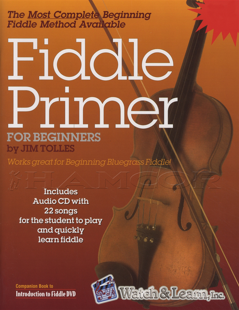 Absolute beginners for fiddle book and cd package