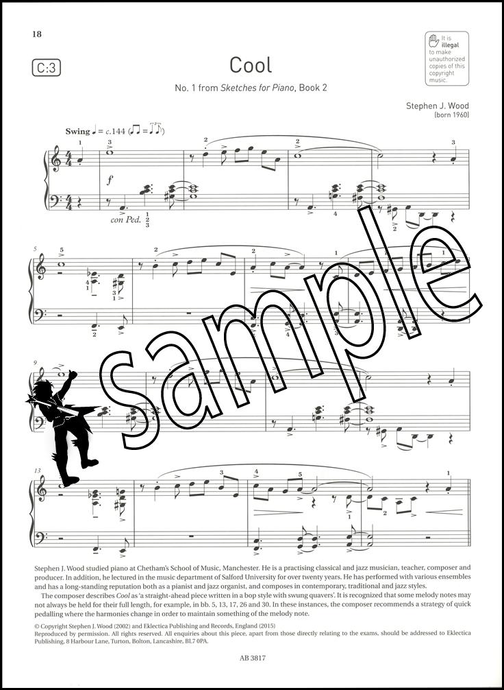 Abrsm Piano Exam Pieces 2017 2018 Syllabus Grade 5 Sheet