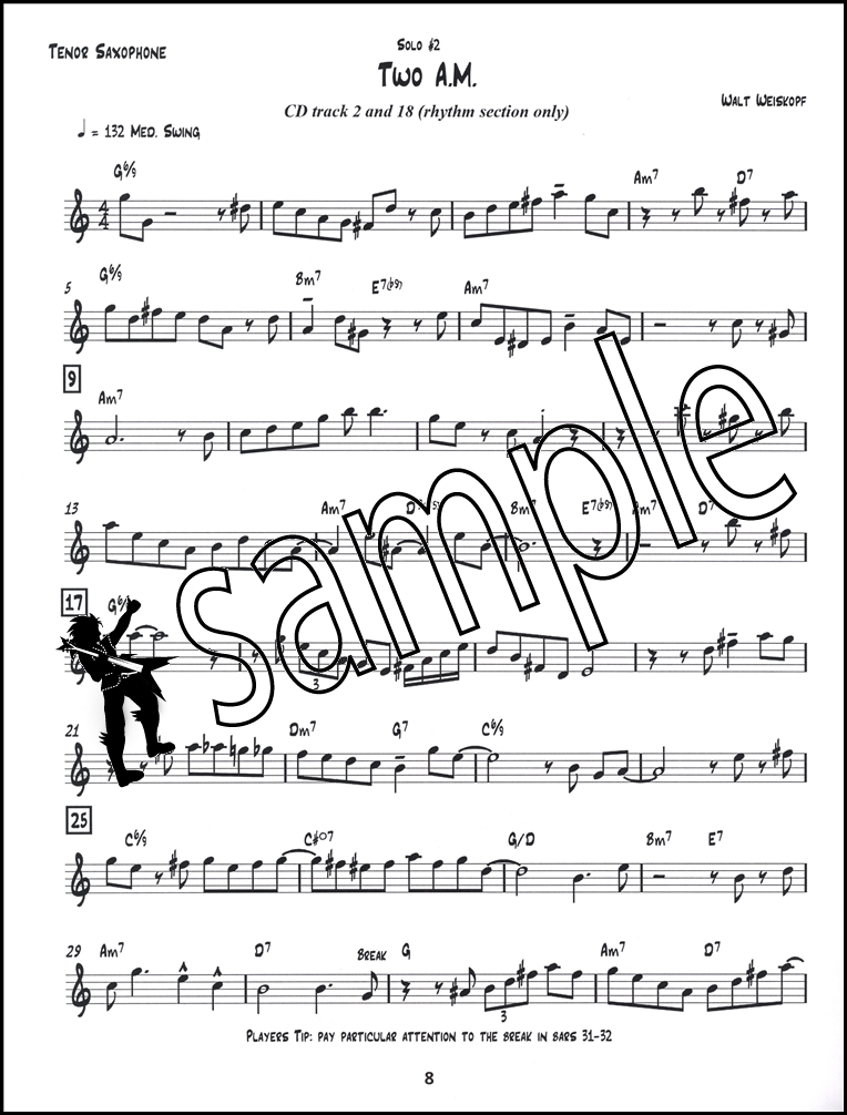jazz sheet music pdf tenor saxc