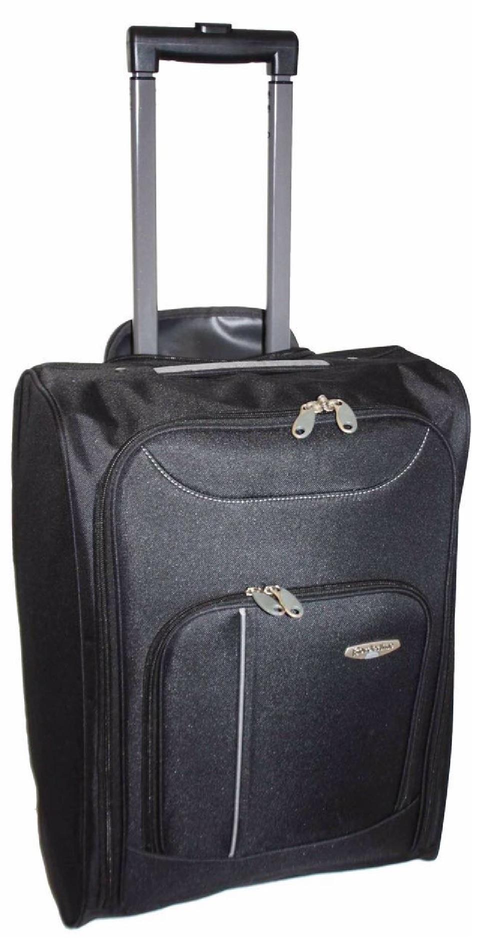 NEW CABIN TRAVEL WHEELED LIGHTWEIGHT BAG HAND LUGGAGE ...