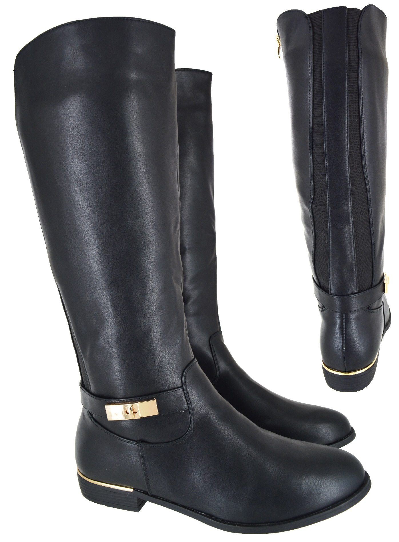 womens big sizes wide calf knee high