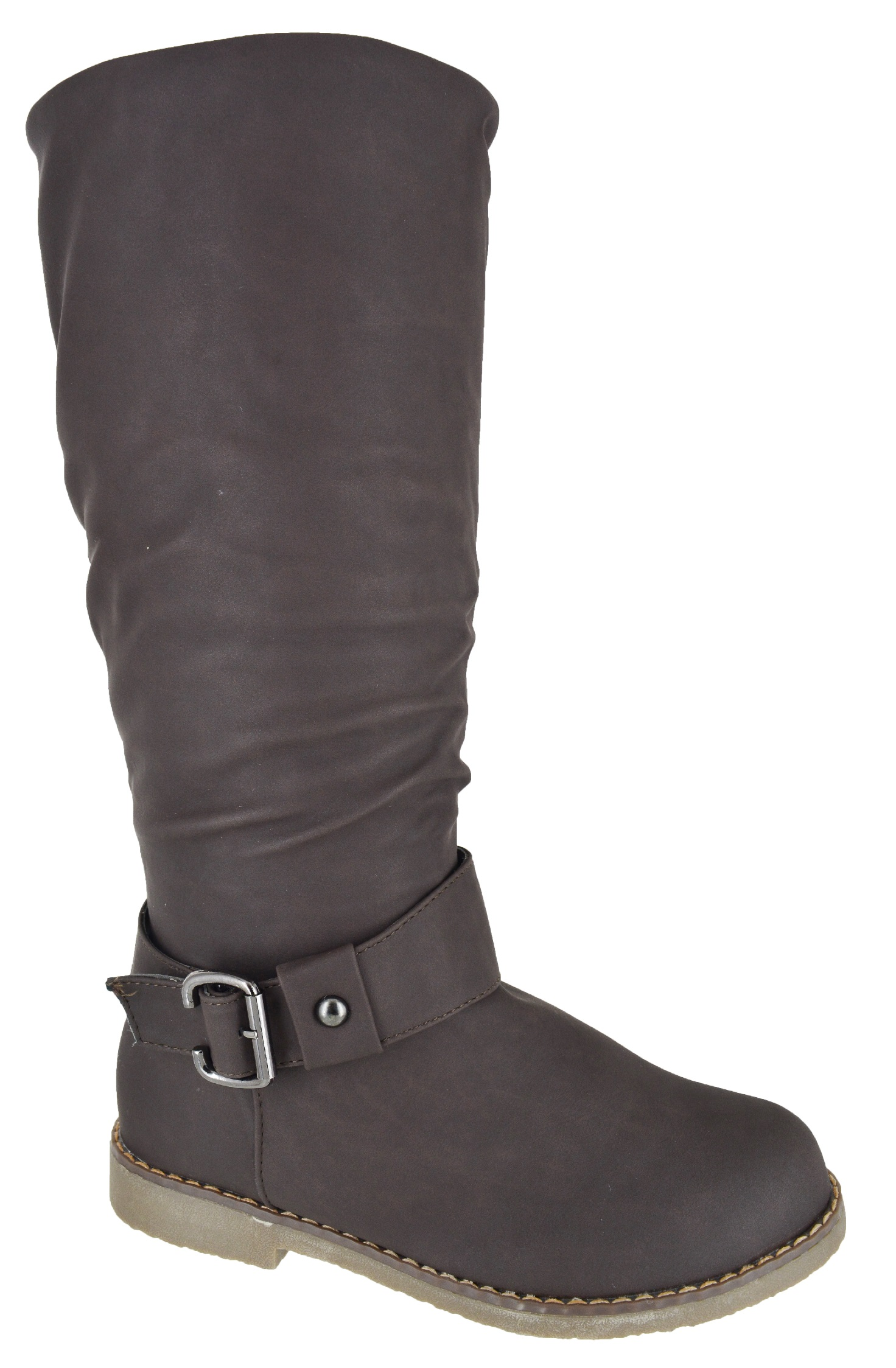 womens new flat knee high fur lined warm winter