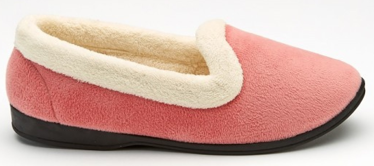 LADIES CASUAL EVERYDAY WARM BED SHOES WOMENS WINTER FAUX FUR MOCASSIN SLIPPERS