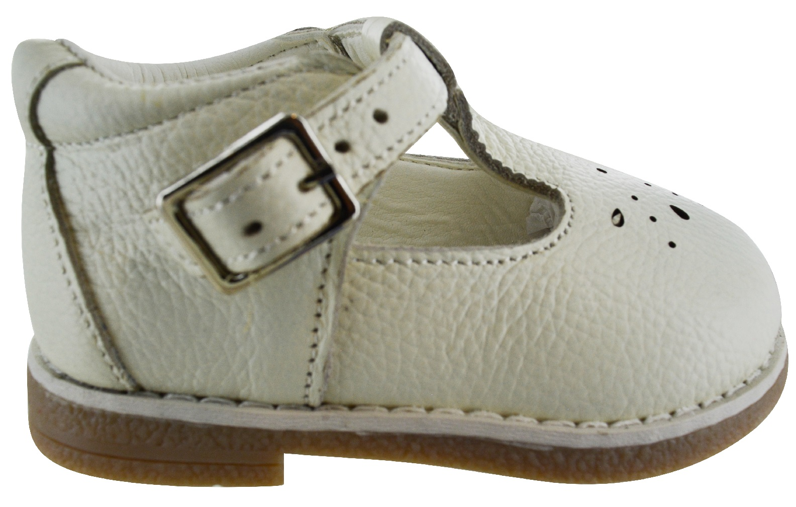 NEW KIDS BABY INFANTS BUCKLE LEATHER UPPER SPANISH WEDDING PARTY TOODLER SHOES