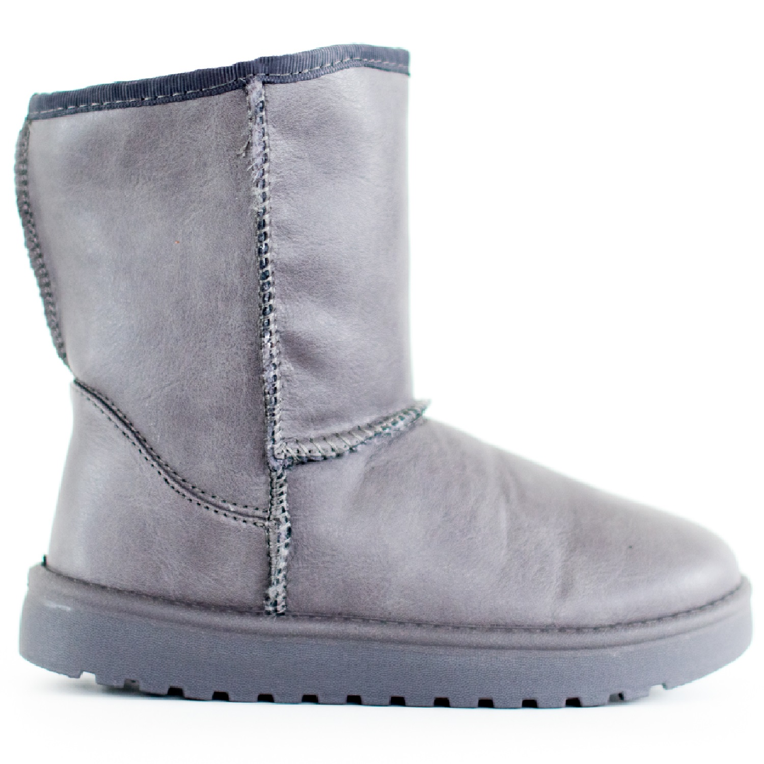 GIRLS CHILDREN KIDS WARM WINTER ANKLE FUR LINED GRIP SOLE SNUGG BOW BOOTS SIZE