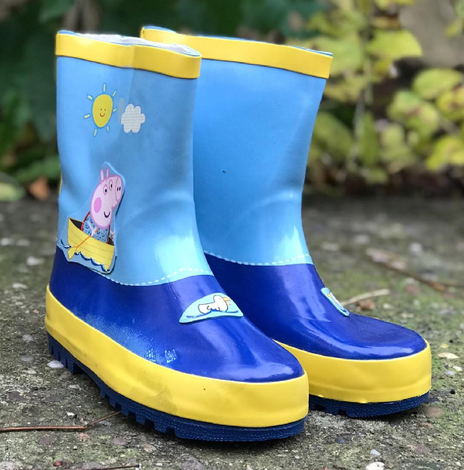 KIDS BOYS GIRLS INFANTS WATERPROOF RAIN WELLIES MCKER WELLINGTONS SPLASH BOOTS