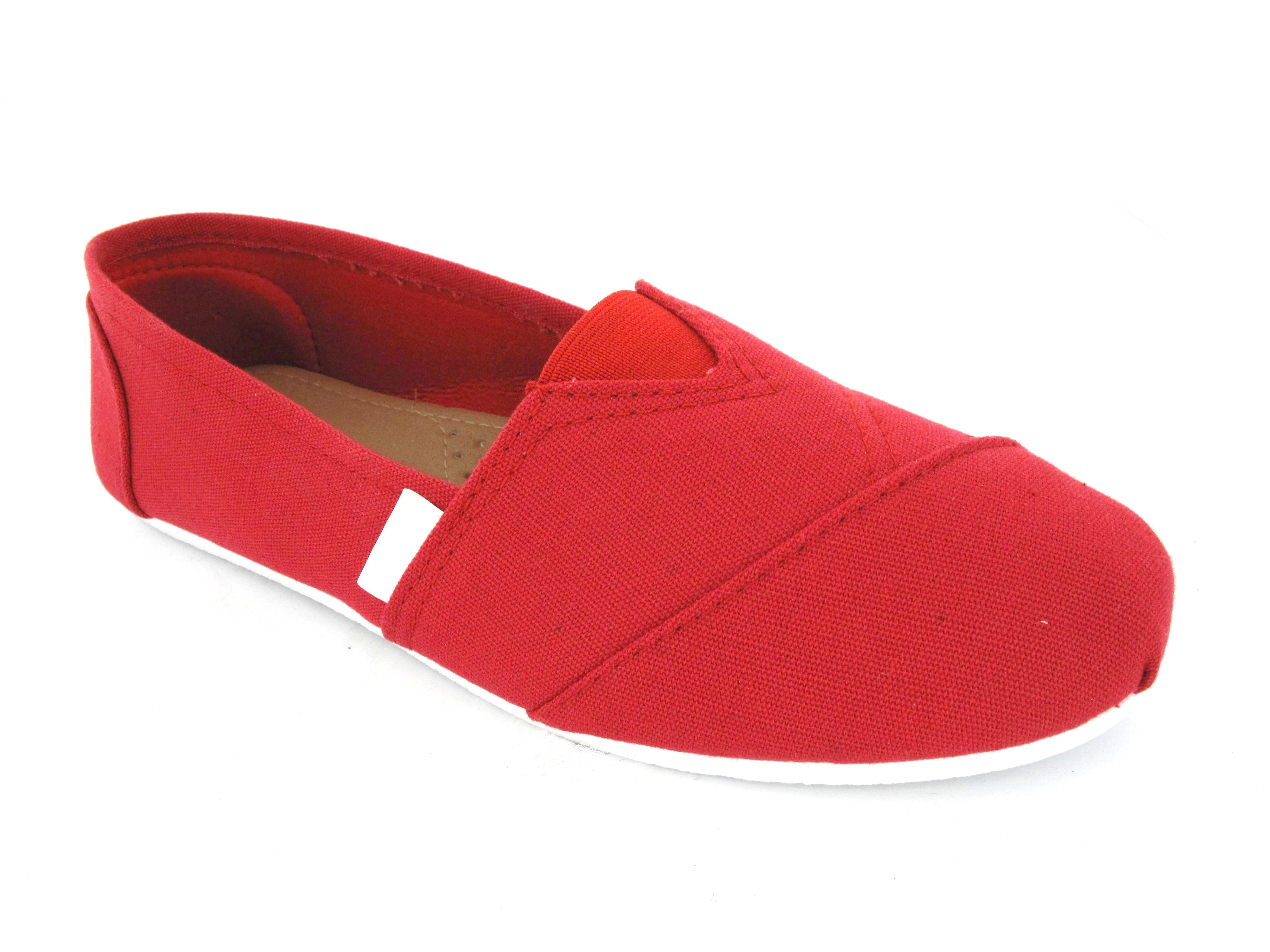 womens flat slip on espadrilles pumps canvas