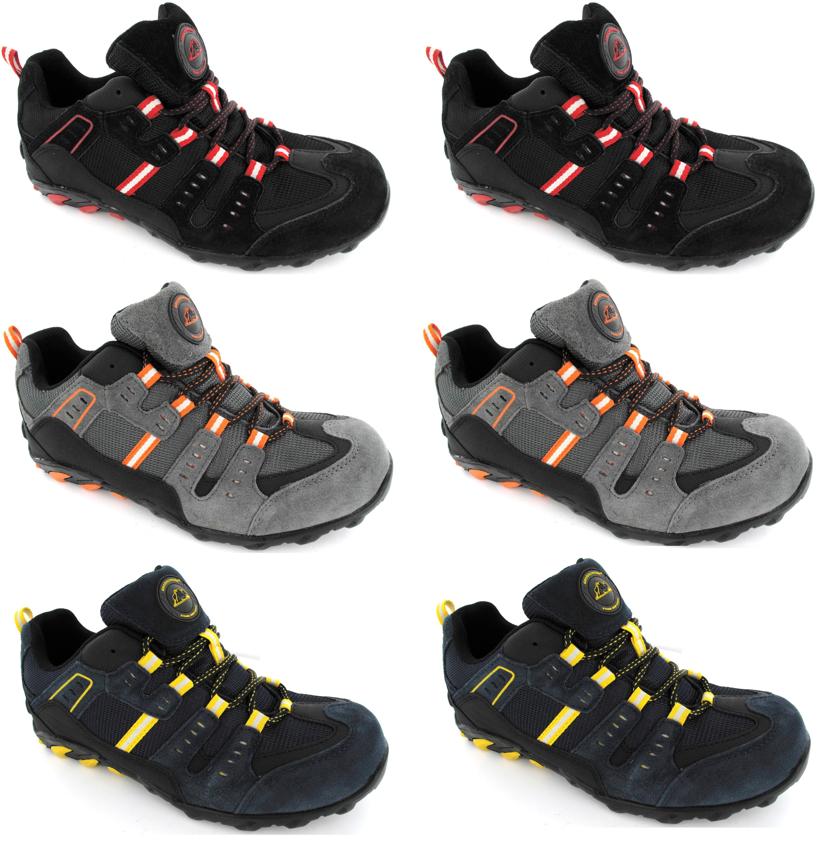 mens steel toe cap trainers new lightweight safety sport