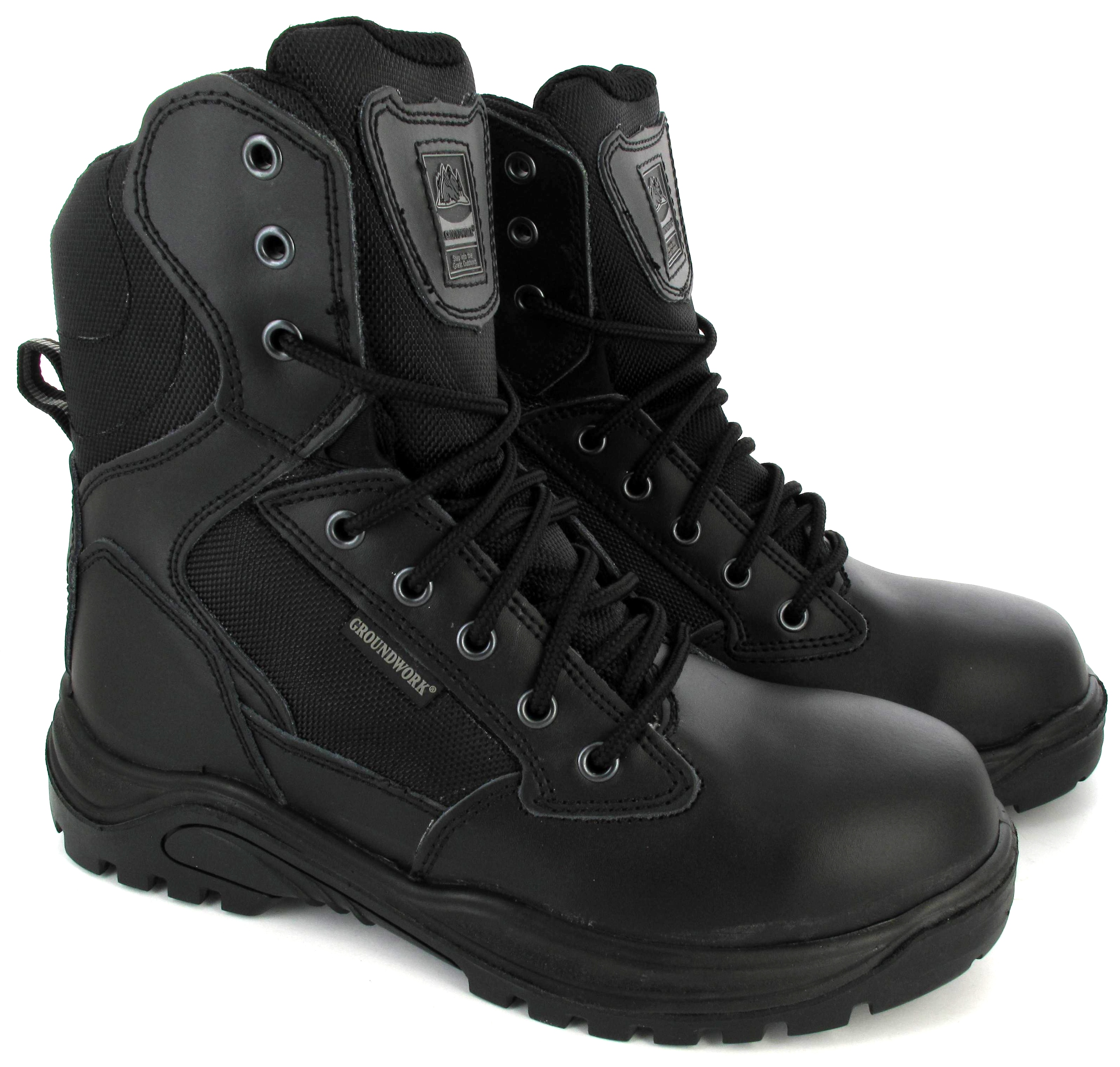MENS-ARMY-MILITAR-STEEL-TOE-SAFETY-COMBAT-POLICE-COMBAT ...