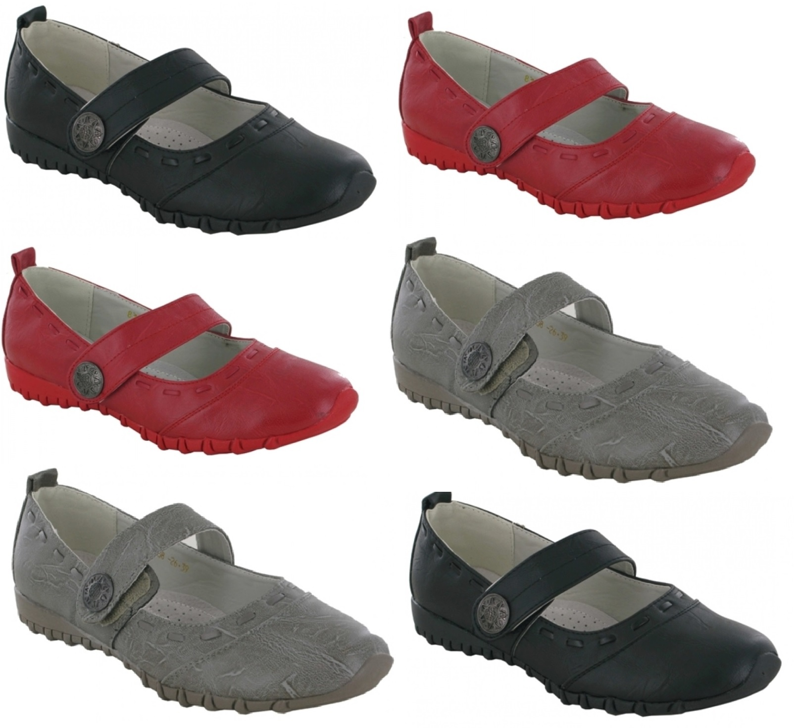 womens comfort walking wide casual flat dolly shoes