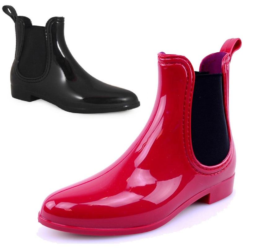 Wonderful High Heeled Rain Boots  Cr Boot