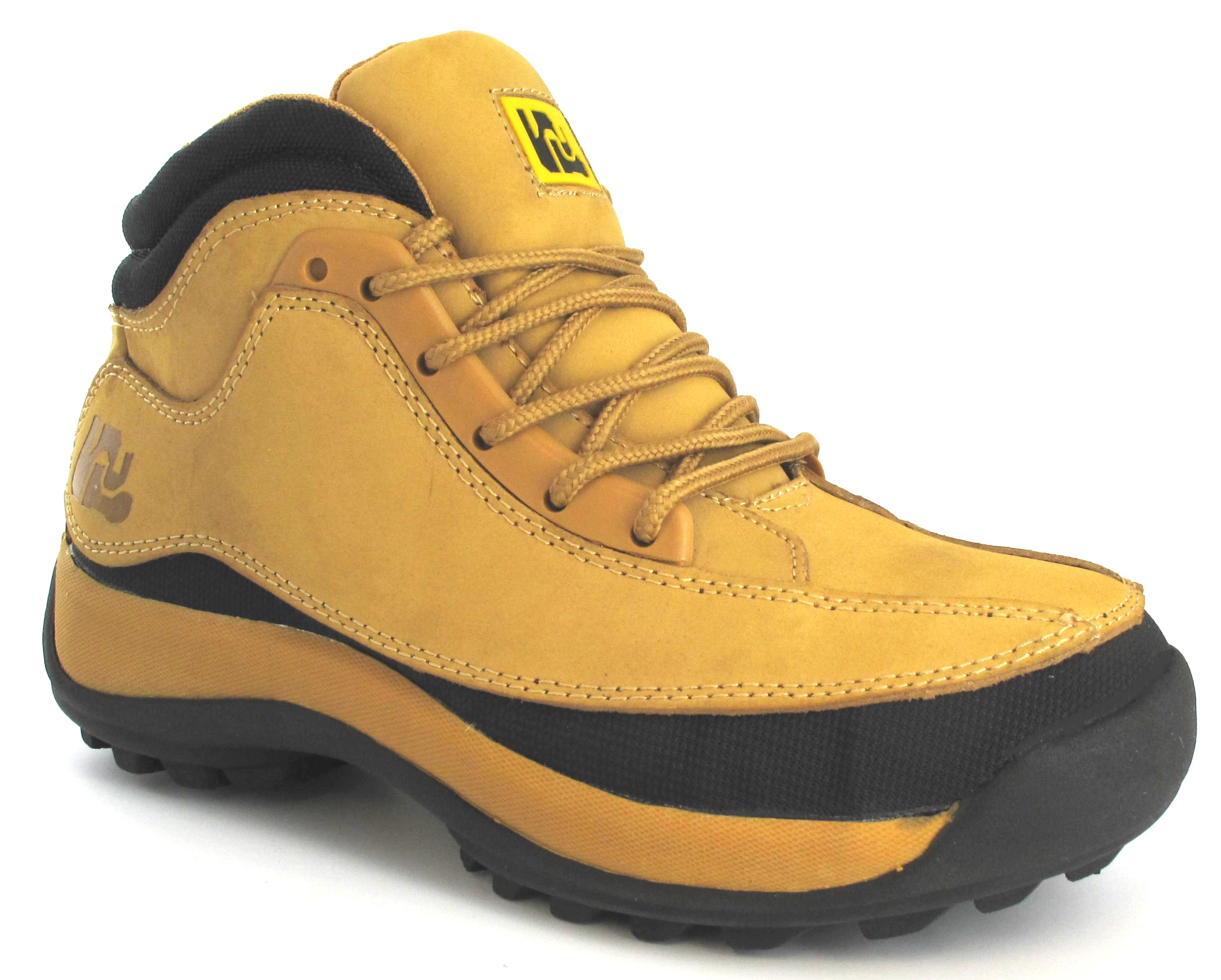NEW MENS LIGHTWEIGHT SAFETY TRAINERS STEEL TOE CAP HONEY WORK ...