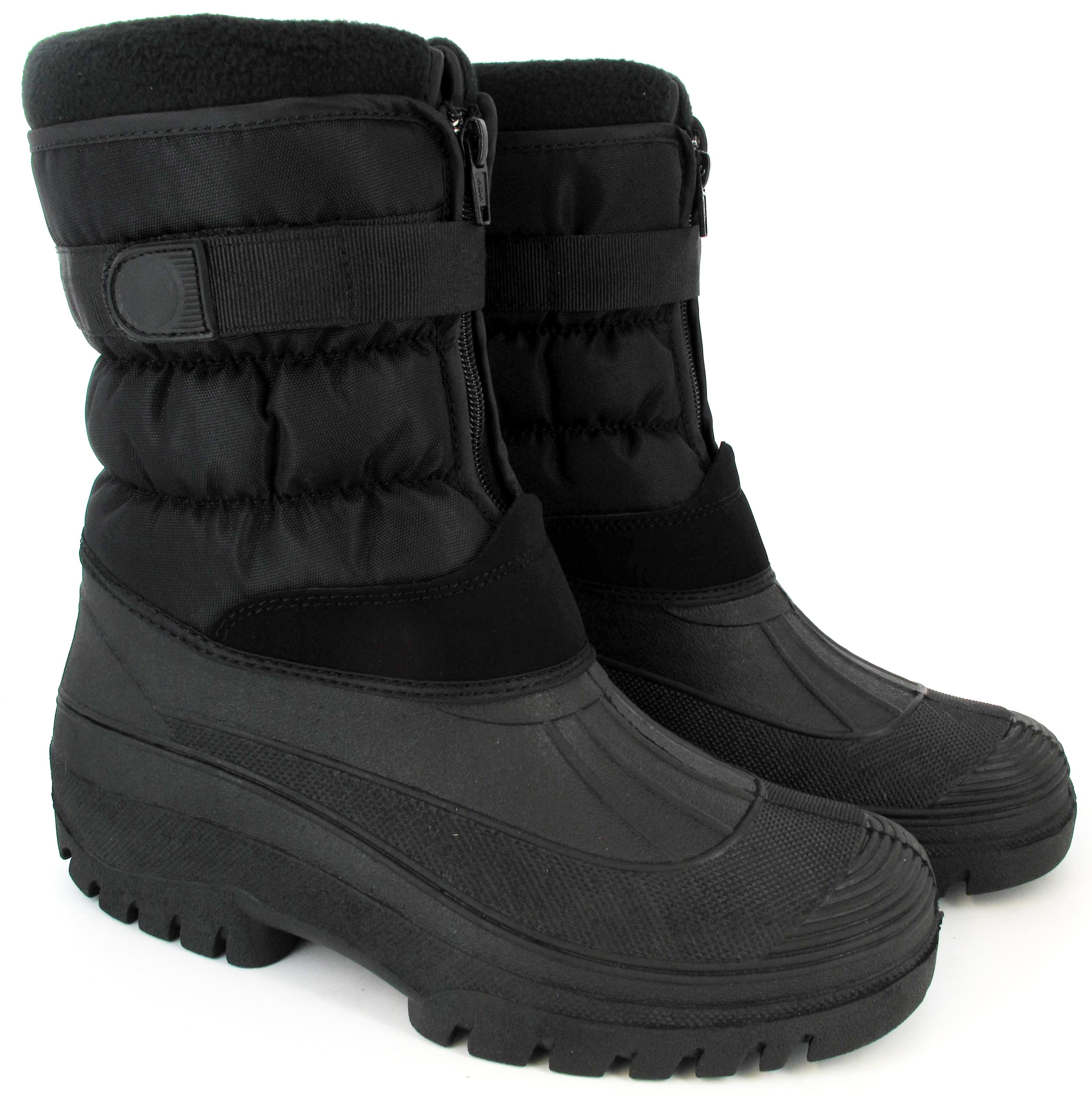 mens warm snow boots waterproof mucker thermal wellingtons