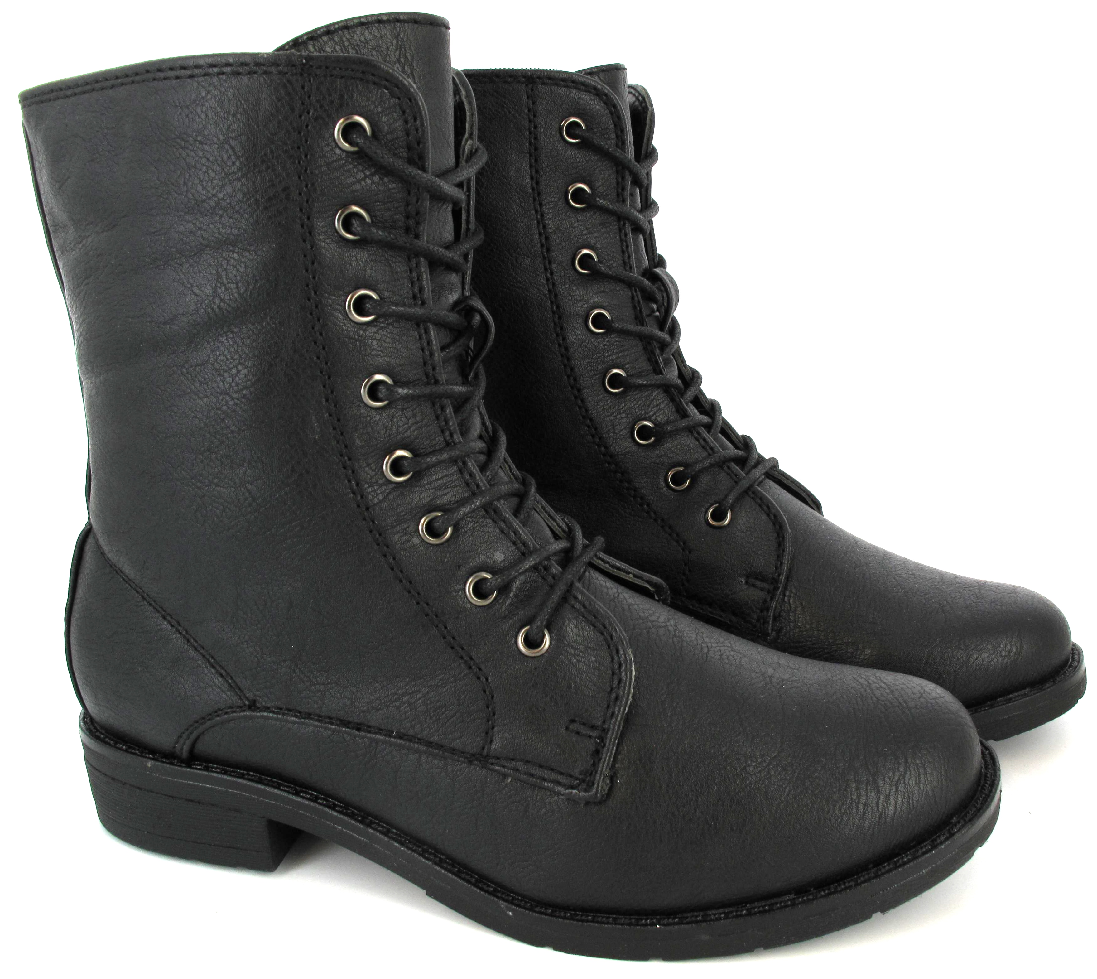 Military Boots Womens Womens-ladies-ankle-boots