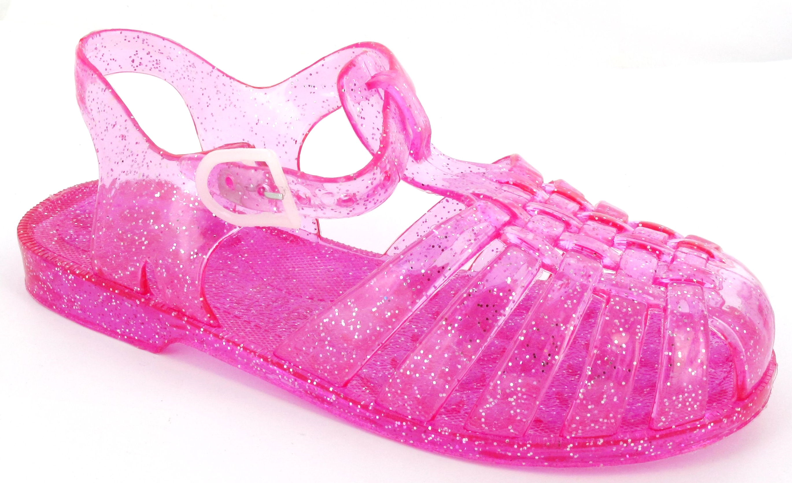 If your girl likes flip flops, for example, she might go for the Bow Jelly Flip Flop from Liv and Maddie. It's no ordinary flip flop. The fun bubblegum pink upper features a silvery bow. Also from Liv and Maddie is the Jewel 2-Band Sandal that's great for dressier occasions. One band is decorated with pretty bead and rhinestone flower accents.