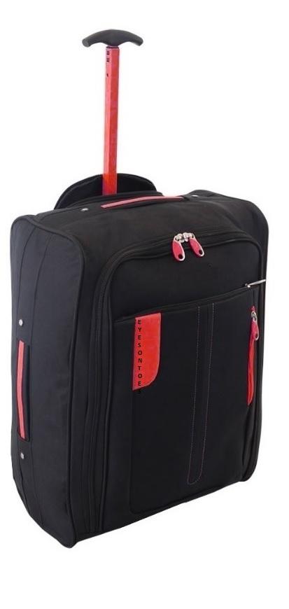 bagage l ger de cabine a roulettes bagage main voyage chariot vol valise sac ebay. Black Bedroom Furniture Sets. Home Design Ideas