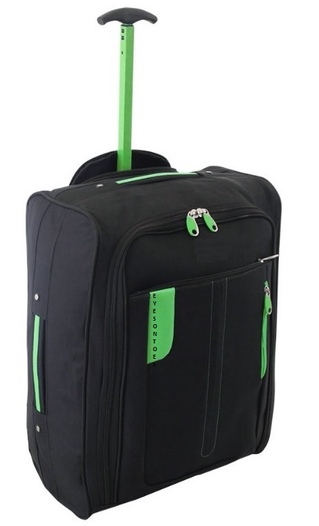 bagage l ger de cabine a roulettes bagage main voyage chariot vol valise sac ebay. Black Bedroom Furniture Sets. Home Design Ideas