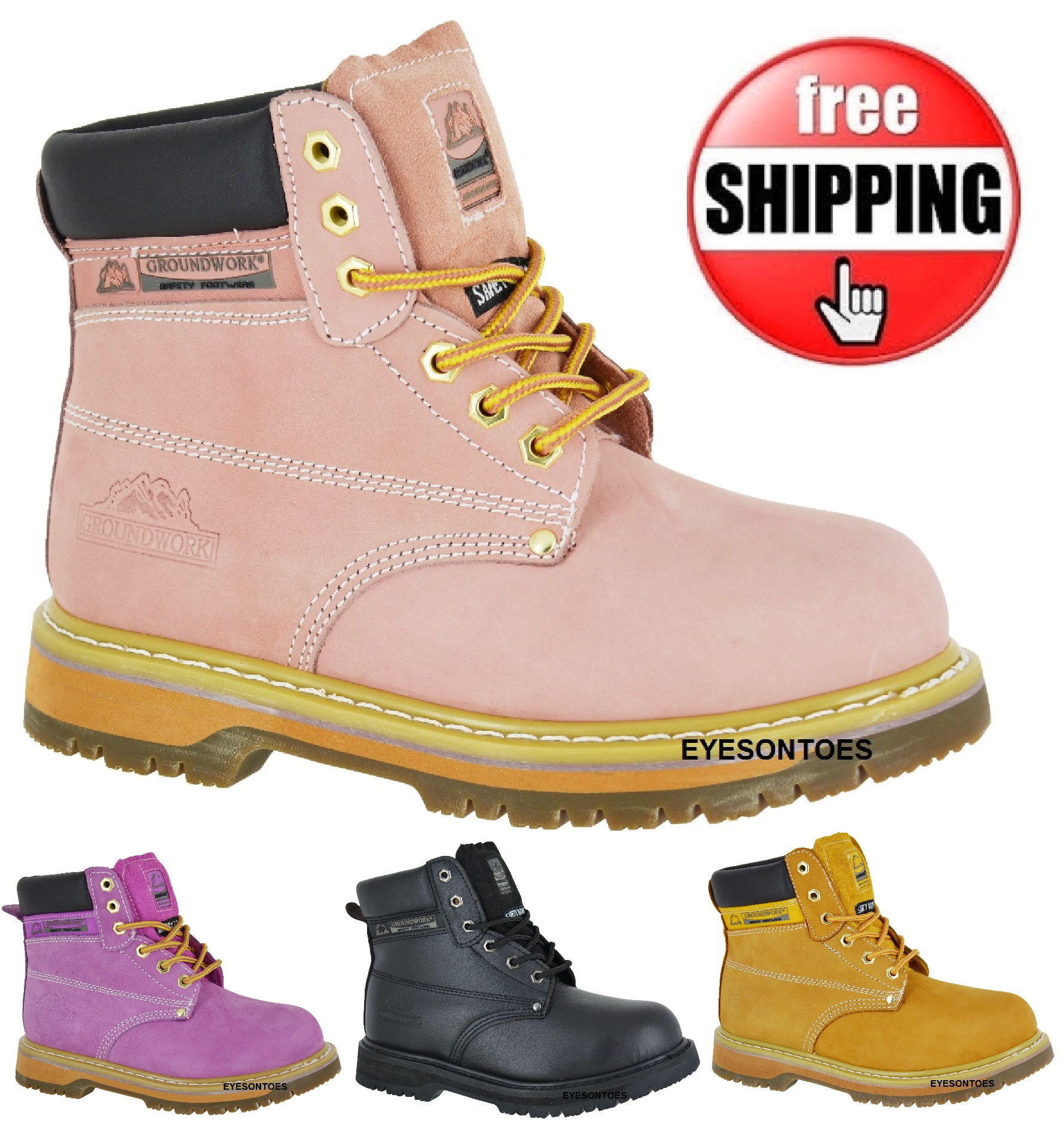 Perfect Pink Betsy Xtreme  Work Boots For Women  Moxie Trades