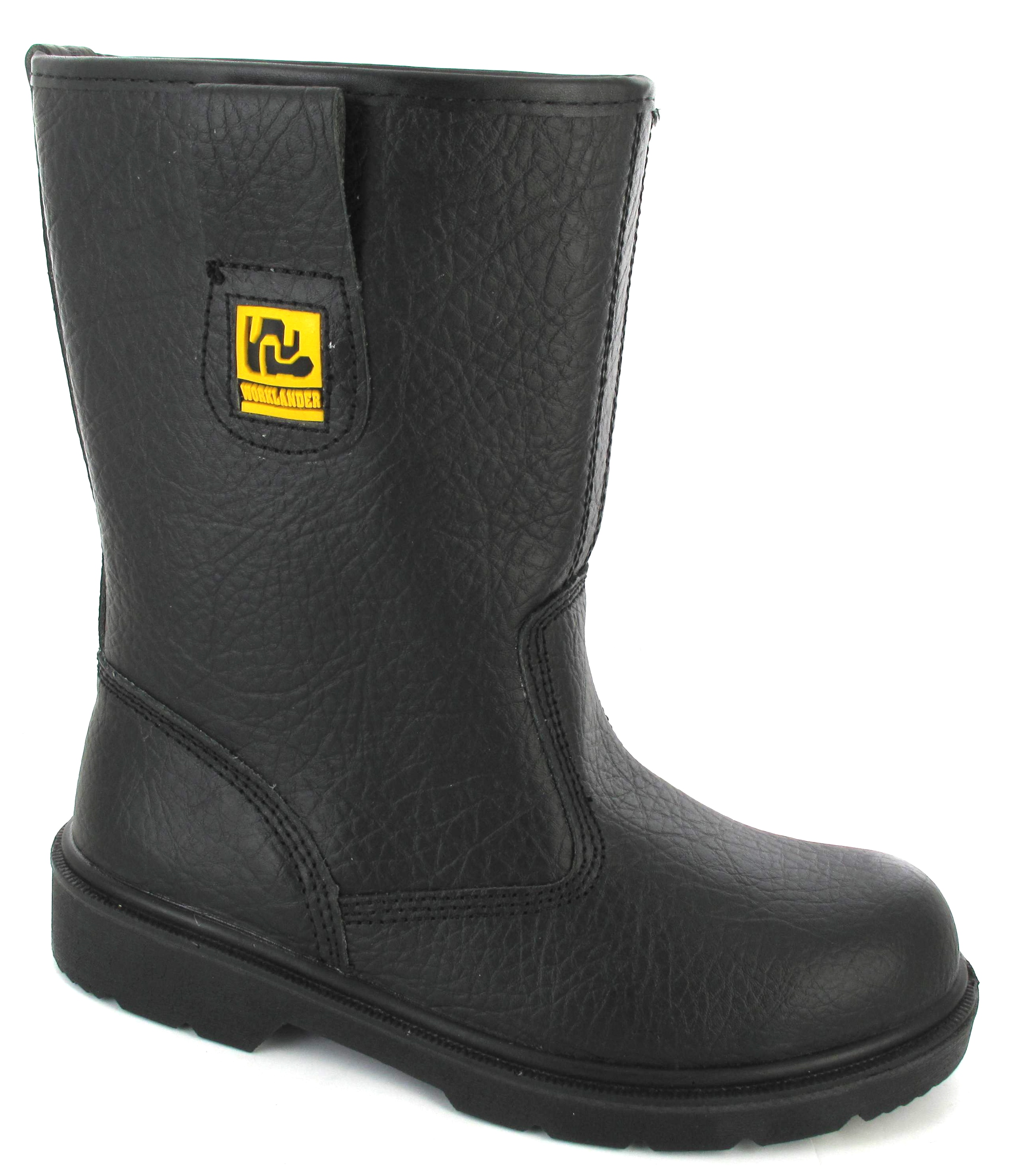 womans rigger safety steel toe caps fur lined