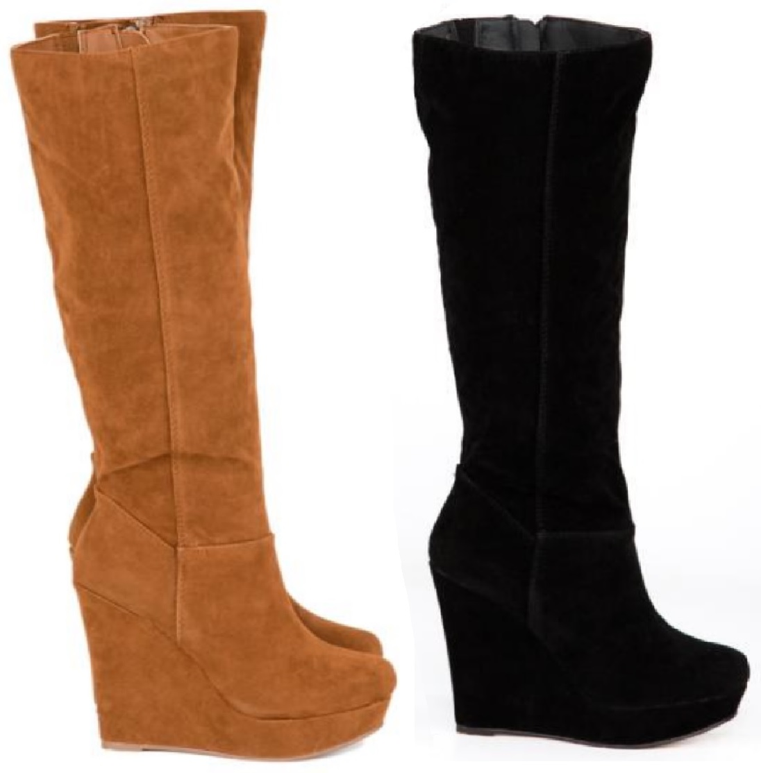 Knee-High Boots, Black, Suede Women's Boots: Find the latest styles of Shoes from jomp16.tk Your Online Women's Shoes Store! Get 5% in rewards with Club O!