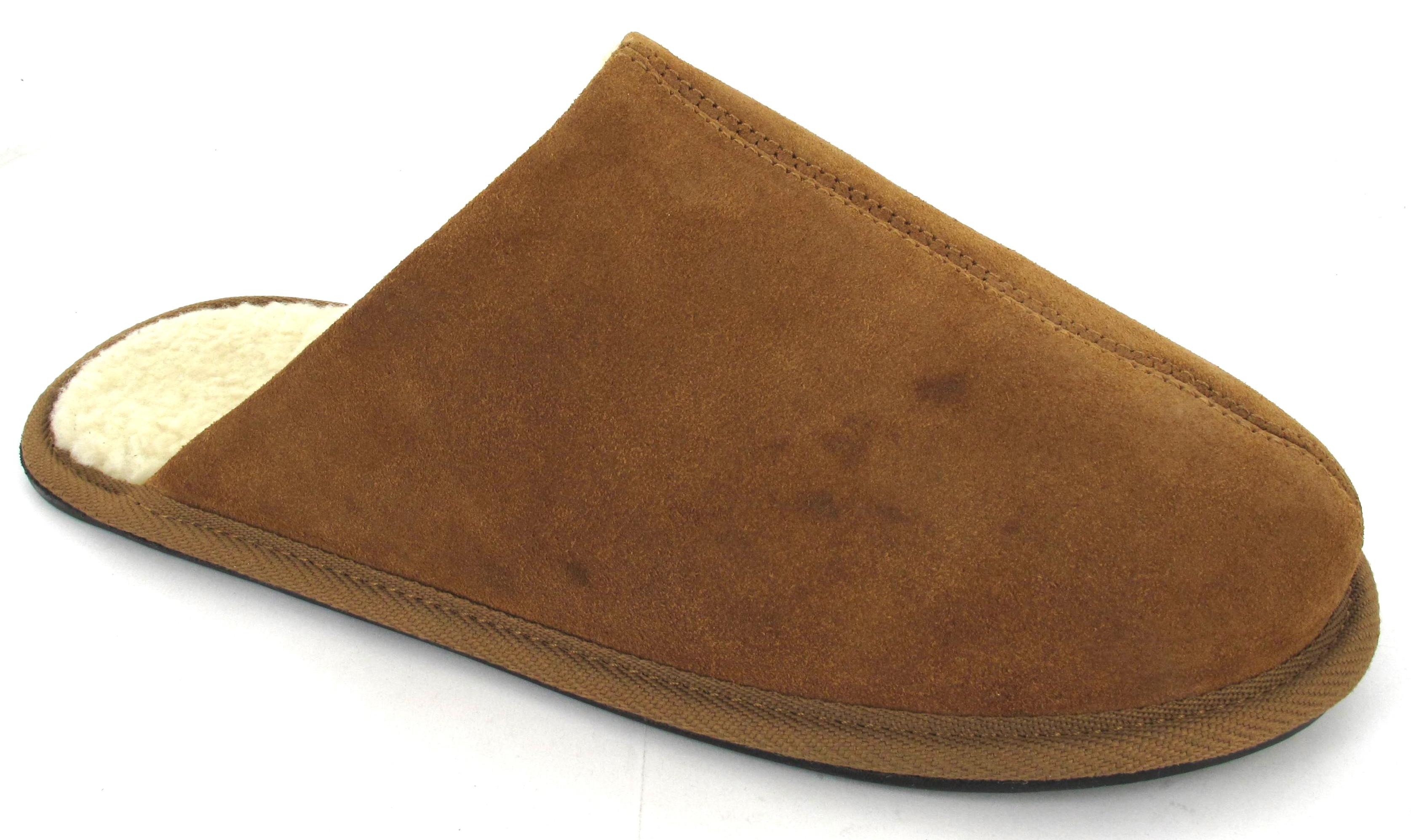 New mens indoor warm comfort slip on winter mules fleece for Warmth and comfort
