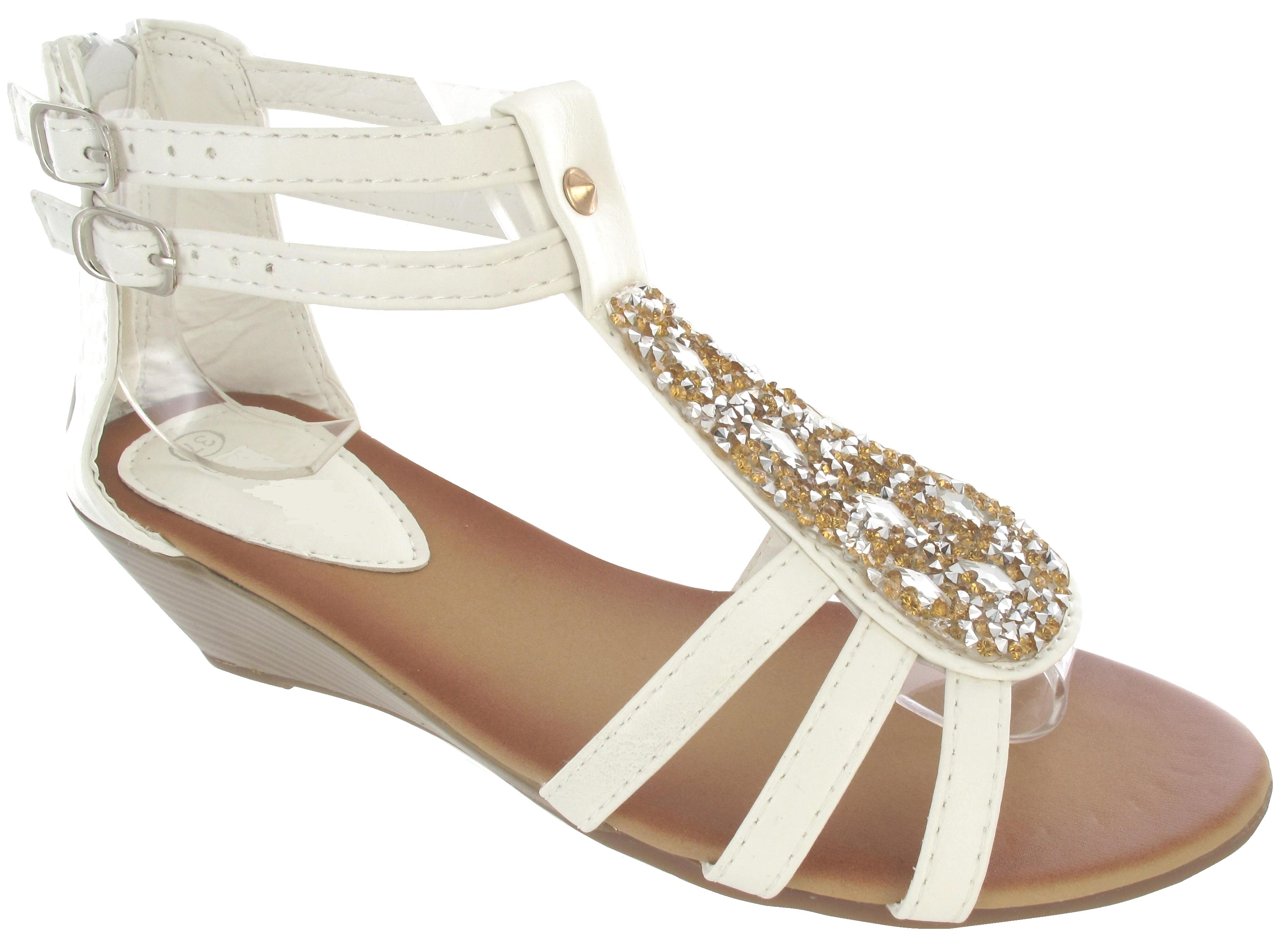 Simple Gabor Picasso  Women39s Modern Dressy Low Heel Sandals In Floral Print