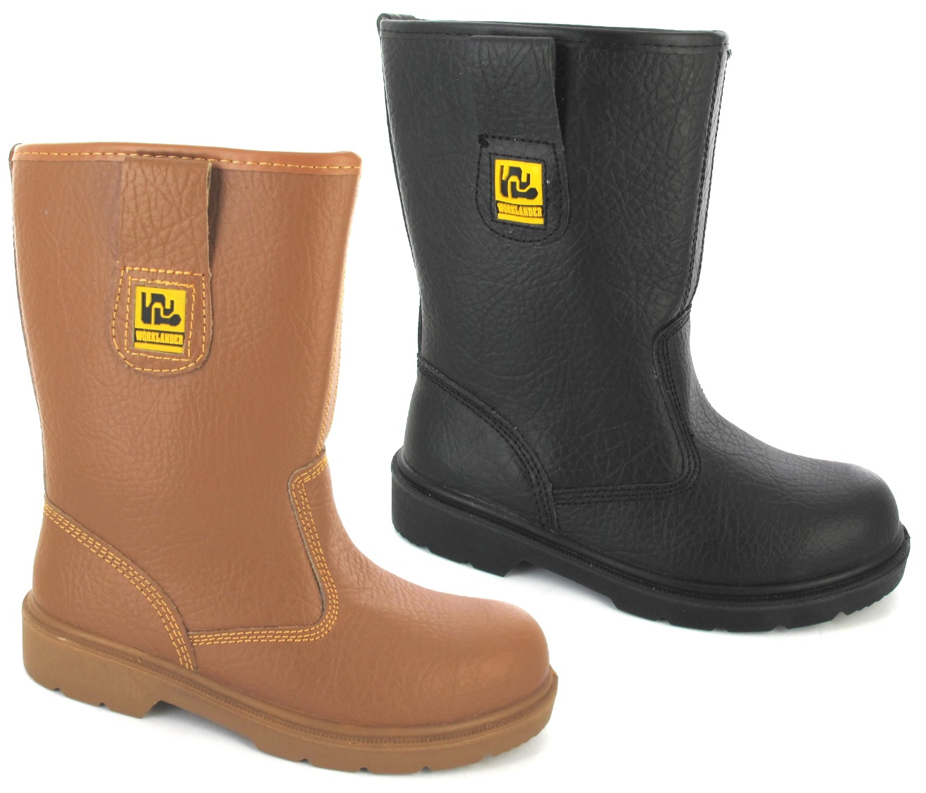 LADIES WOMANS RIGGER SAFETY STEEL TOE CAPS FUR LINED