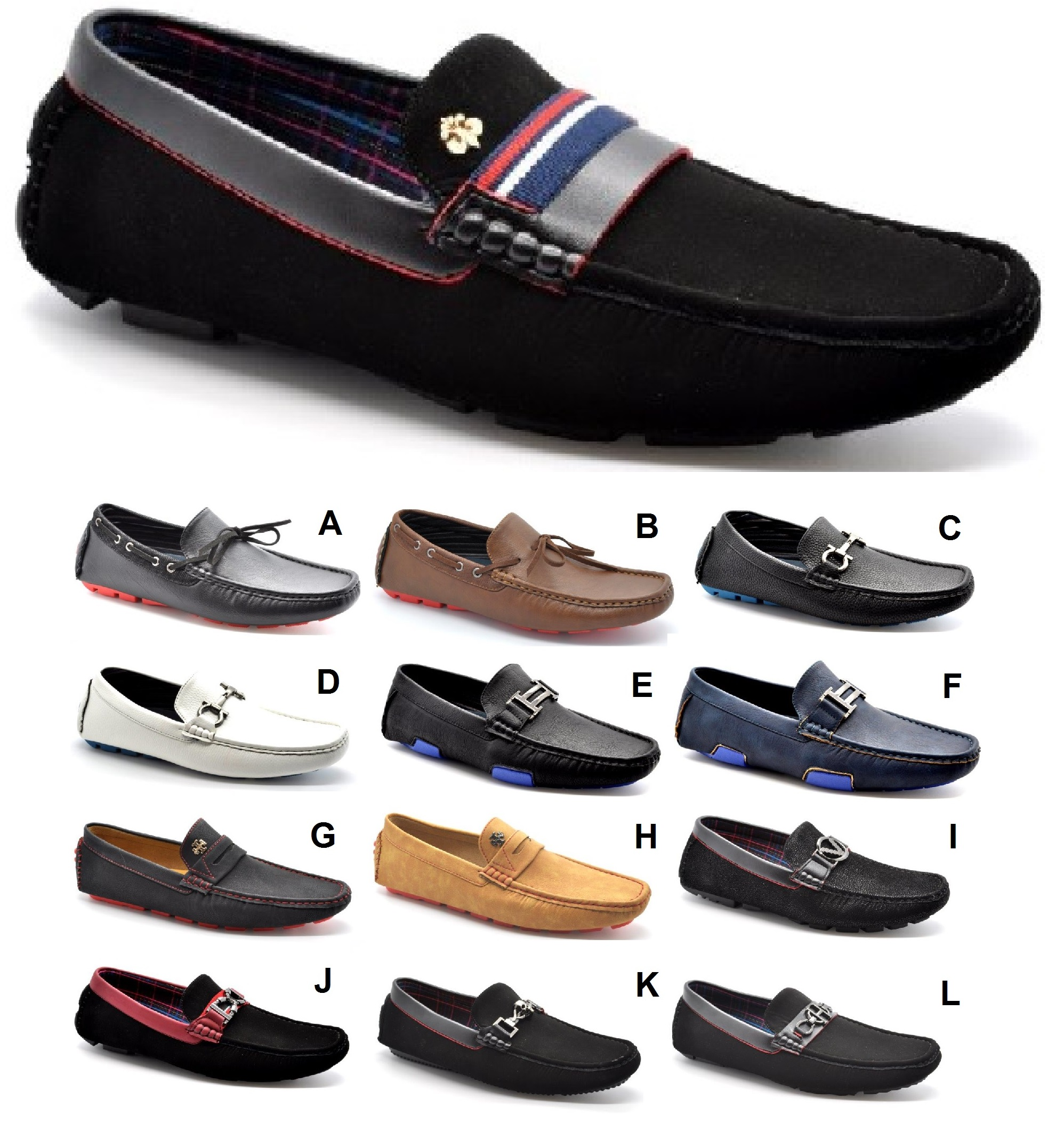 MENS GENTS TASSEL ITALIAN LOAFERS BOYS CAUSAL MOCCASIN BOAT SCHOOL