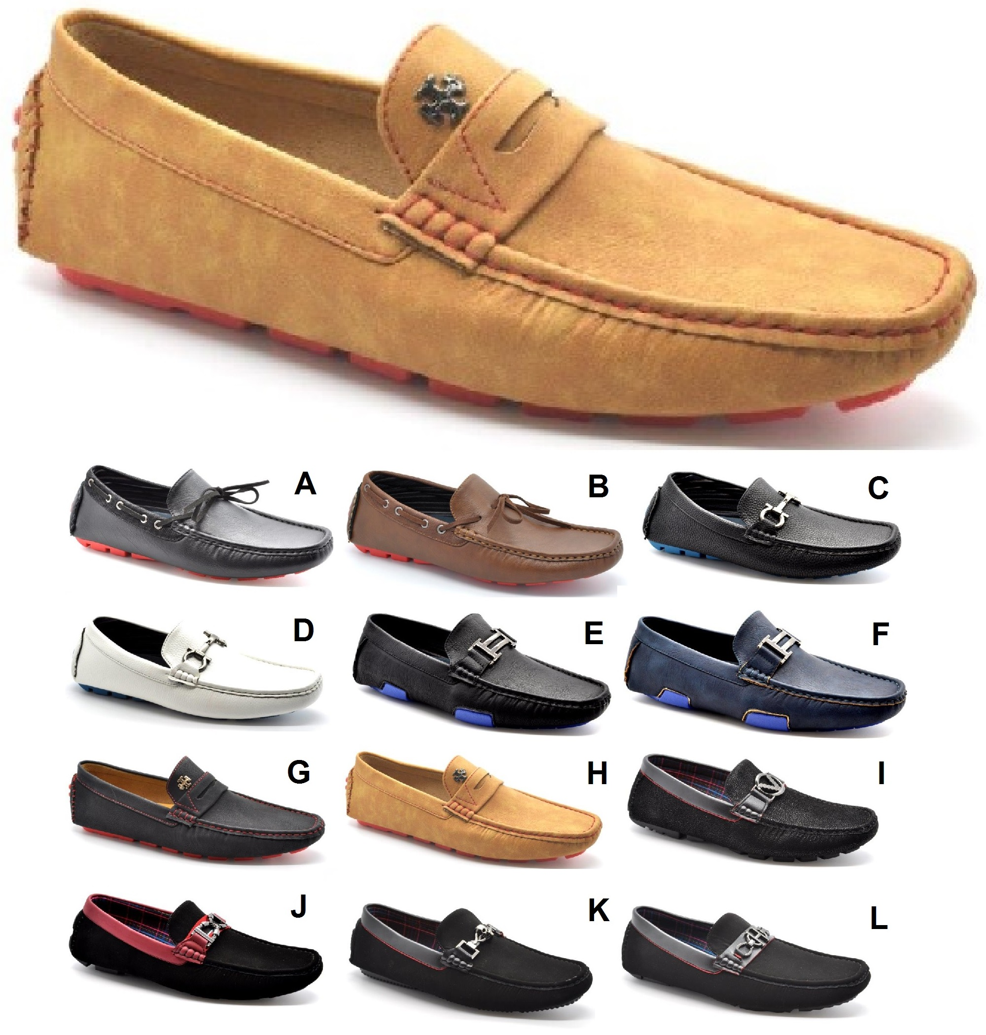 BOYS MENS NEW TASSEL DESIGNER FLAT SLIP ON FORT CASUAL ITALIAN
