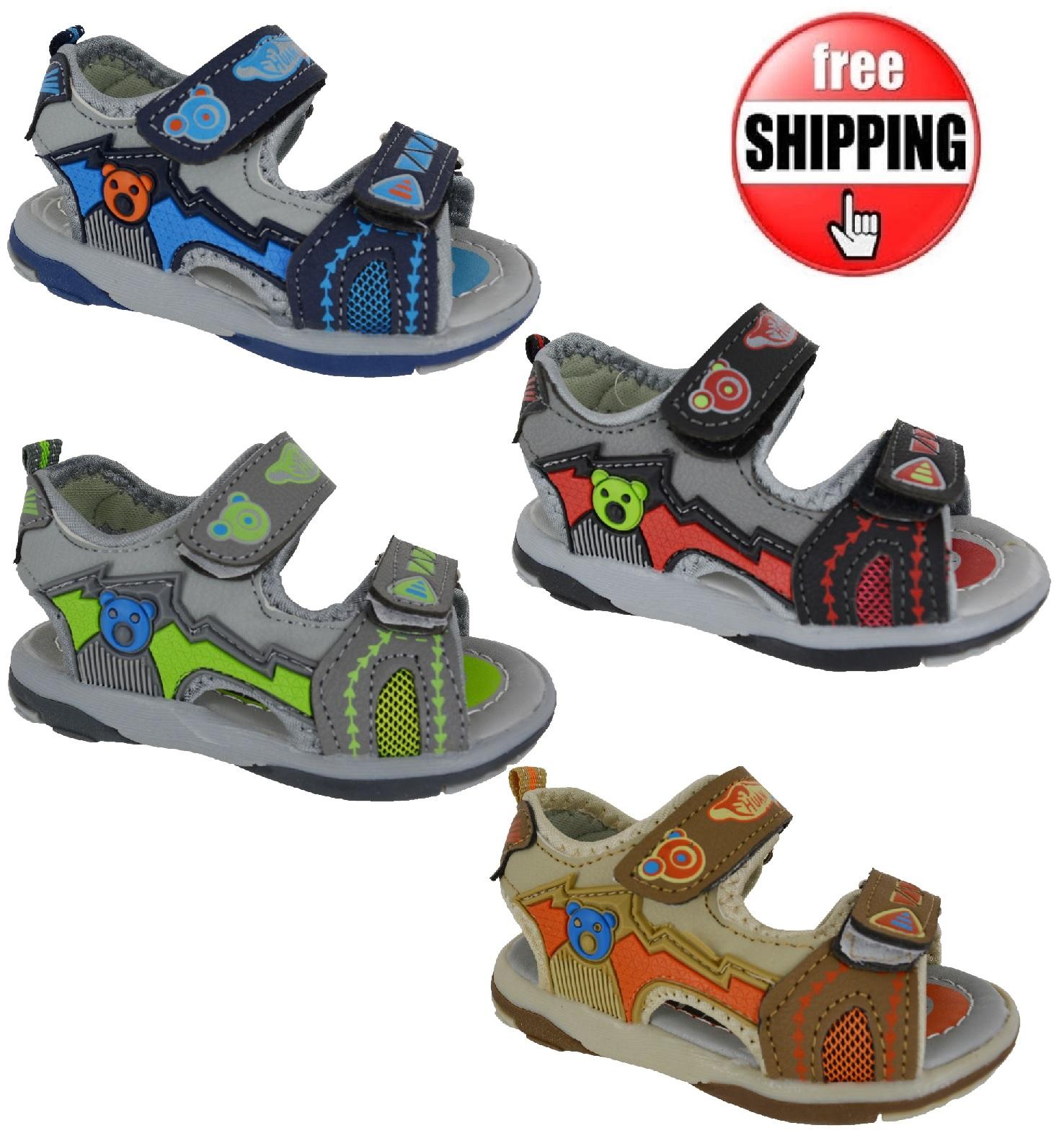 jungen kinder kleinkinder sommer strand wander sandalen sport kinder ebay. Black Bedroom Furniture Sets. Home Design Ideas