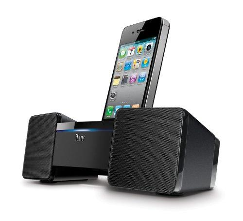 iluv imm286 speaker docking station system for iphone 2 3 4 ipod touch nano ebay. Black Bedroom Furniture Sets. Home Design Ideas