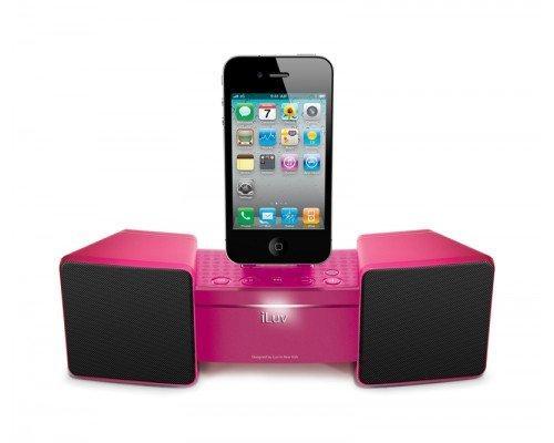 iluv imm286 speaker dock station sytem for iphone 2 3 4 4s. Black Bedroom Furniture Sets. Home Design Ideas