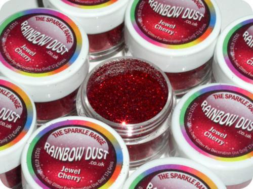 Rainbow Dust Non Toxic Cake Decoration Sparkle Glitter & Edible Silk Range