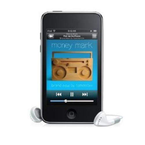 apple ipod touch 2nd generation black chrome 8 16 32. Black Bedroom Furniture Sets. Home Design Ideas