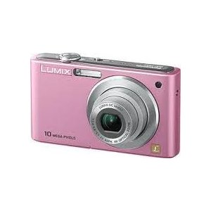 Panasonic Lumix FS42 Compact Digital Camera Pink 10MP Enlarged Preview
