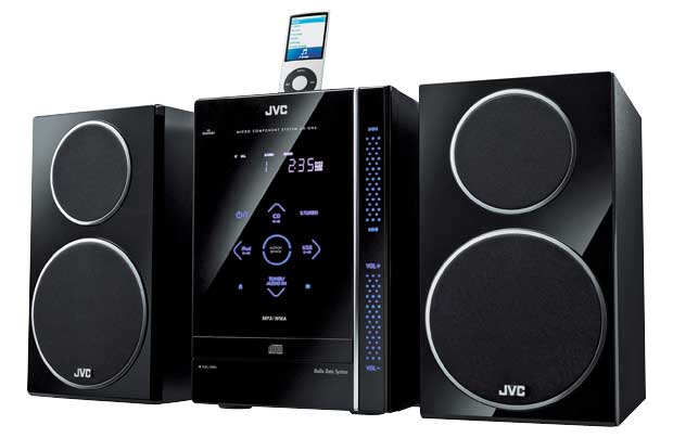 jvc uxgn6 ipod docking system hifi stereo ebay. Black Bedroom Furniture Sets. Home Design Ideas