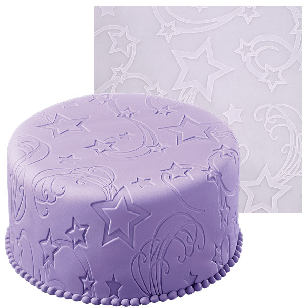 Wilton Cake Decorating Classes Uk : Wilton Star Power Fondant Icing Mold Imprint MAT ...