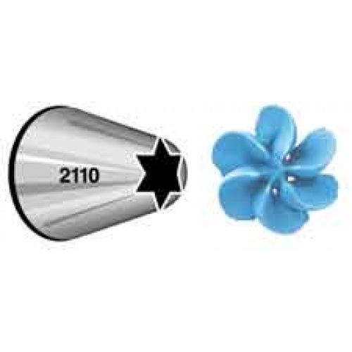 Wilton open star icing nozzle decorating tip stars for Star decorating tip